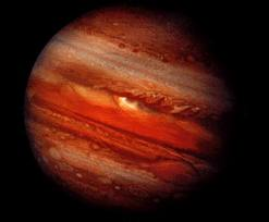 Jupiter in Orange